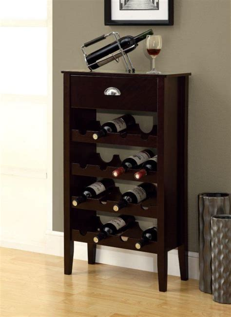 home wine storage monarch specialties wine rack cappuccino storage for 16
