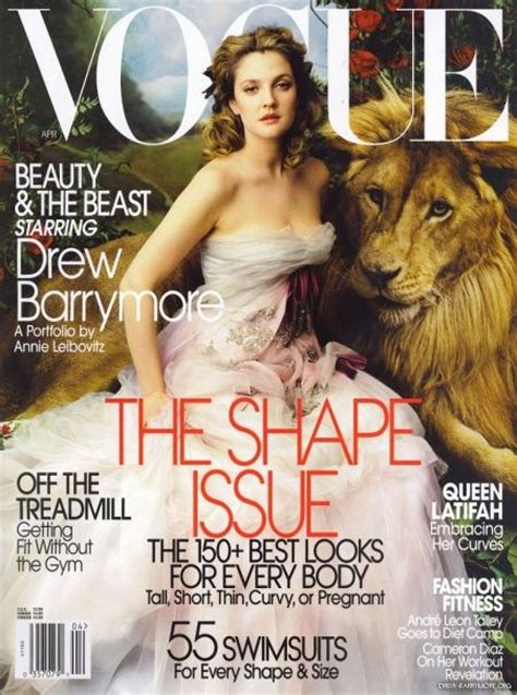 Drew Barrymore Looking Pretty On The Cover Of Janes March Issue by Drew Barrymore Cover Of Vogue Crush
