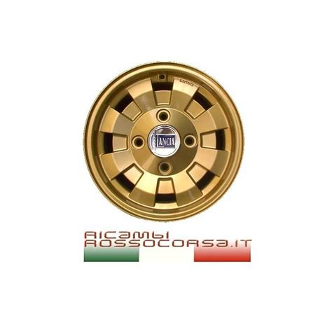 Lancia Fulvia Wheels Alloy Wheel Replica Gold Cromodora 6x14 Lancia Fulvia By