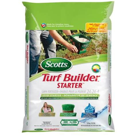 scotts scotts turf builder starter fertilzer 24 24 4 5 9kg