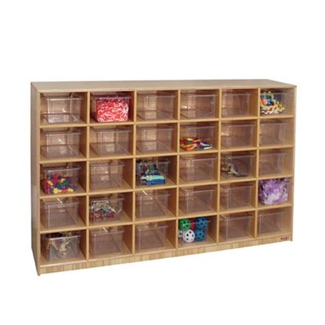 Cubby Storage Cabinet by Wood Designs 30 Cubby Storage Cabinets