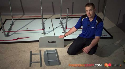 ping pong set for any table how to set up fold up any ping pong table and