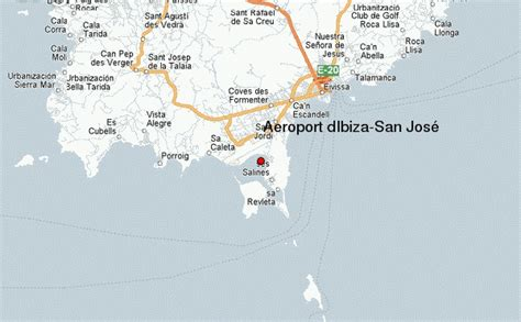 san jose map spain ibiza airport location guide