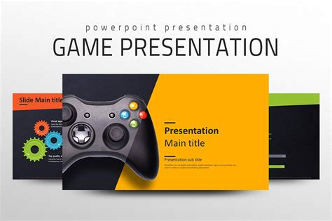 game presentation template presentation templates