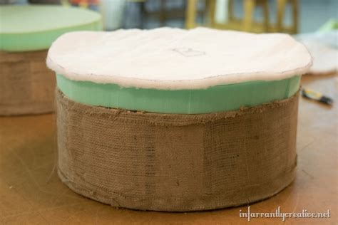 spool ottoman ottoman made from an old electrical spool infarrantly