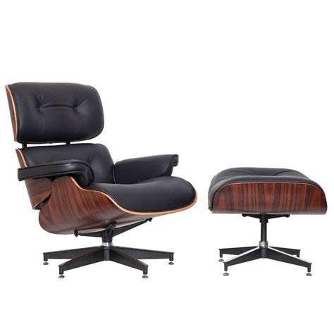 eames ottoman only new classic eames replica lounge chair ottoman ebay