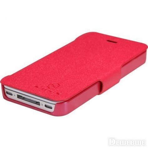 Jual Leather Casing Hp Iphone 4 4s 5 5s 6 Harga jual nillkin fresh flip cover iphone 4 4s indonesia original harga murah