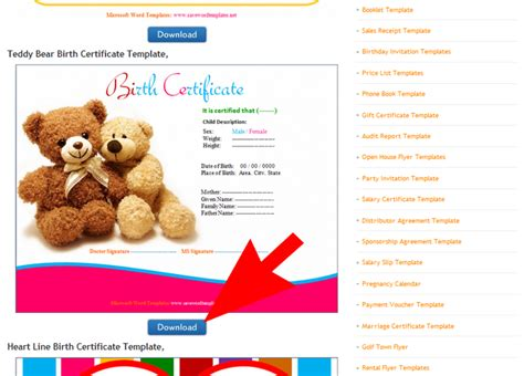teddy birth certificate template 3 ways to make a teddy birth certificate wikihow