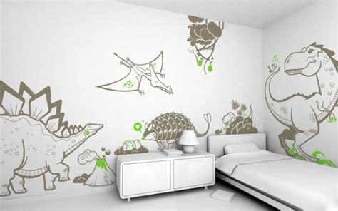 Dinosaurier Kinderzimmer Gestalten by Wanddeko Kinderzimmer Wie Eine Wand Ein Ganzes Zimmer