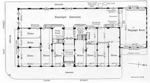 Train Station Floor Plan Columbus Interurban Terminal Article