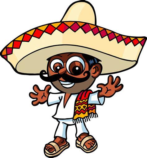 mexican sombrero man free clipart clip art library