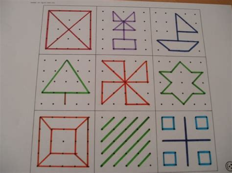 pattern making francais 77 best images about geoboards on pinterest food webs