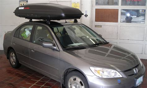 2004 Honda Civic Roof Rack by Honda Civic Civic Hybrid 4dr Rack Installation Photos