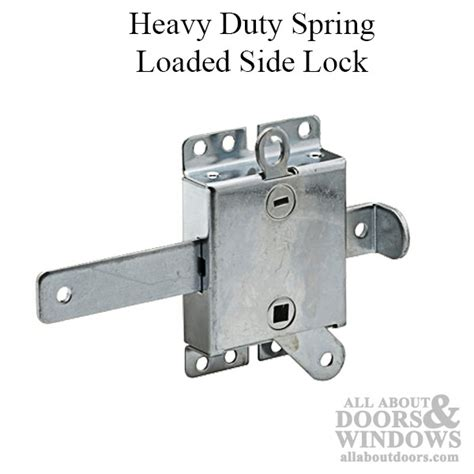 Garage Door Release Lock Heavy Duty Loaded Side Lock With Latch Bolt Release Lever For Garage Door