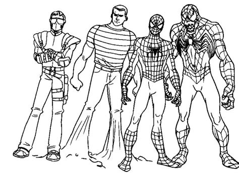 coloring pages spiderman 3 black spider man 3 coloring pages coloring pages