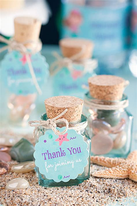 Home Made Wedding Decorations by 3 Diy Mermaid Party Favor Ideas Gift Amp Favor Ideas From