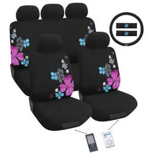 girly car seat covers and mats for