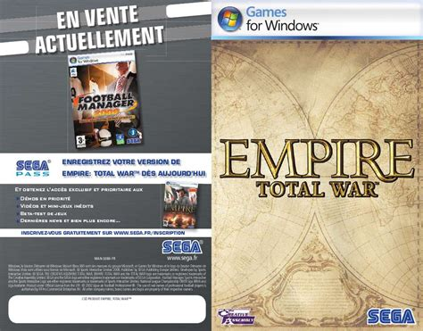 empire total war console mode d emploi sega empire total war console de jeux