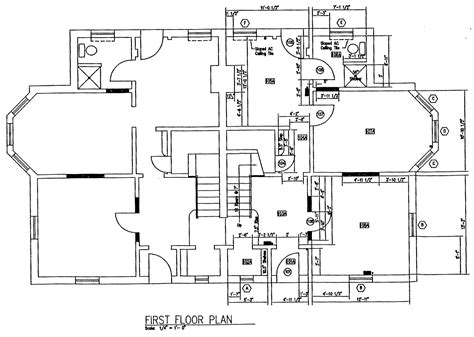 floor plan of modern family house design modern house