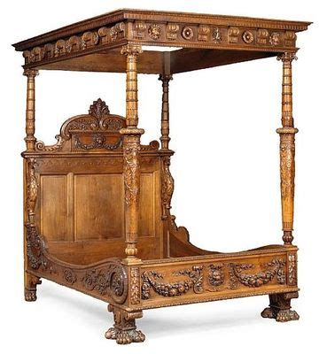 renaissance bed a renaissance style walnut bed