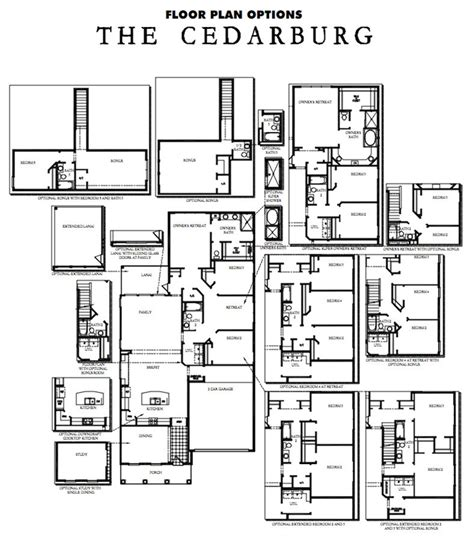 David Weekly Floor Plans by Rivertown Model David Weekley Homes The Cedarburg The