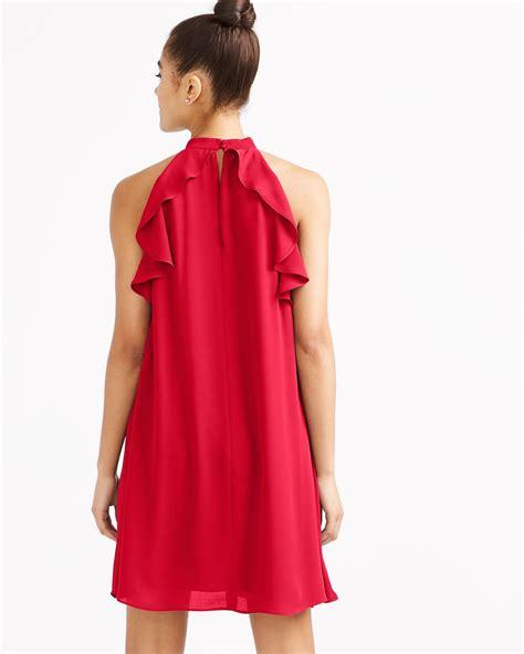 Ruffle Halter Dress halter ruffle dress reitmans
