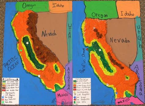california map project 14 best images about us regions on