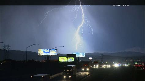 lighting in california lightning thunderstorms hail heat hit southern