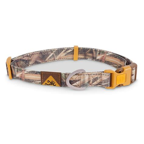 camo collars browning camo collar 666227 collars leashes leads at sportsman s guide
