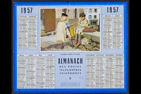 Calendrier De 1957 Saga Du Calendrier 2 3 Un Reflet Du Changement Le Point