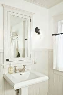 beadboard medicine cabinet helgerson interior design small chic
