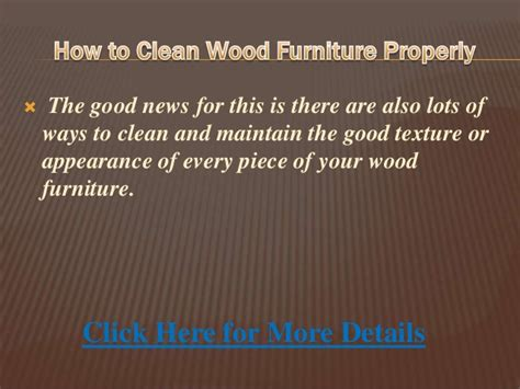 how to clean woodwork how to clean wood furniture properly