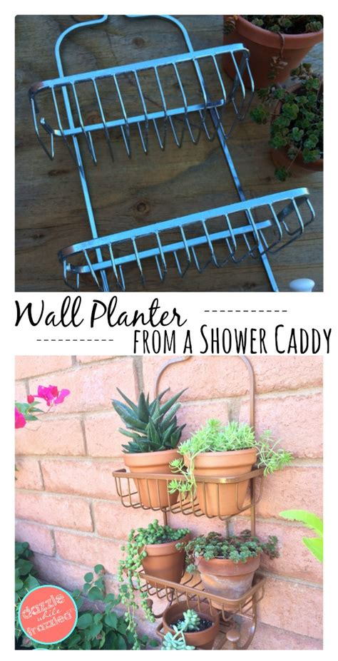 Planters For Small Spaces by How To Use A Bathroom Shower Caddy Into A Shower Caddy