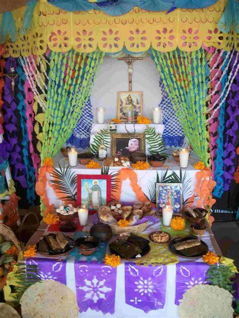 Imagenes De Altares De Novenarios Con Papel | d 237 a de muertos pregunta santoral