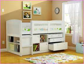 Kid Bed With Desk Beds With Storage And Desk Home Design Ideas