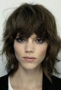 shag hairstyle pictures with v back cut best 25 short shag ideas on pinterest short shag