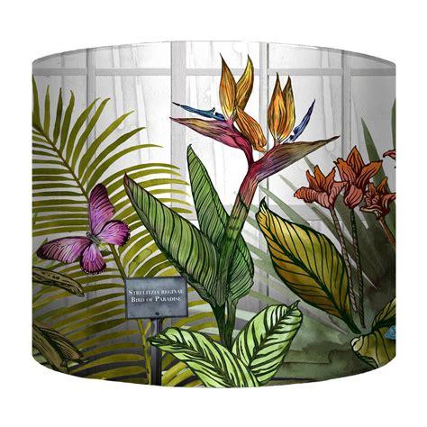 glasshouse tropical botanical print wallpaper by terrarium glasshouse tropical botanical print lshade by terrarium