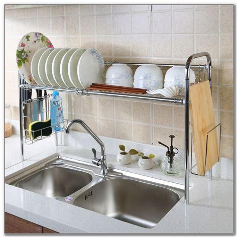 Stainless Steel Sink Dish Drainer Home Design Ideas