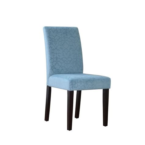 Accent Chair Set Of 2 Accent Chair In Blue Set Of 2 41020blu02u