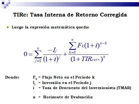 191 una aventura econ 243 mica un ingl 233 s viaj 243 en todos los calcular tir con excel tasa interna de retorno indicadores