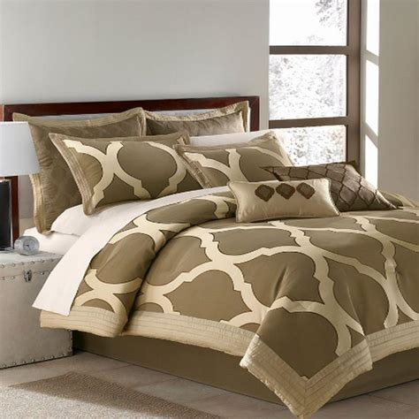 milano comforter set arrow milano collection 7 piece king comforter bed in a