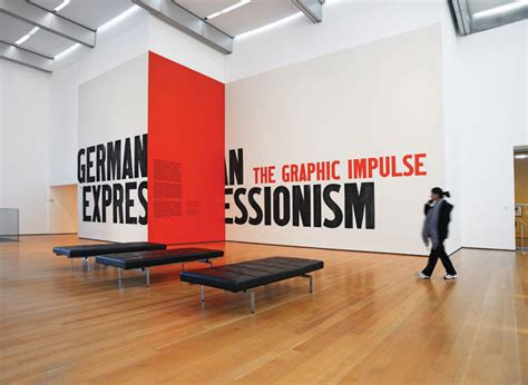 typography exhibition german expressionism the department of advertising and