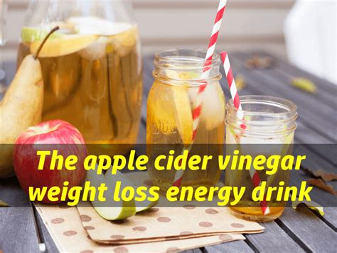Detox Drink Weight Loss With Apple Cider Vinegar by Apple Cider Vinegar Weight Loss Drink Healthy Detox