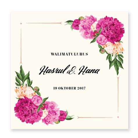 kad kahwin floral 34 kad kahwin bunga kad kahwin kad kahwin by chantiqs com website kad kahwin terkini