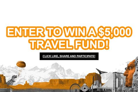 Free Contests To Enter To Win Money - enter to win a 5 000 travel fund