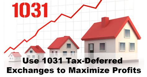 tax code section 1031 use 1031 tax deferred exchanges to maximize profits sage