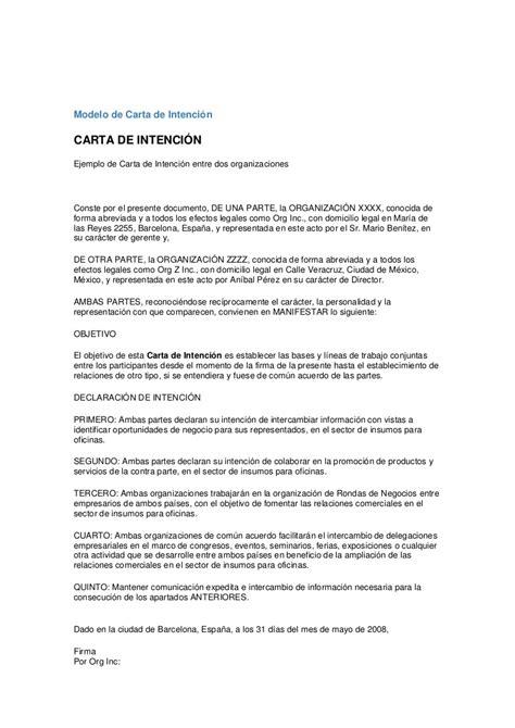 Carta Muestra De Interes excepcional plantilla de muestra de trabajo de carta de intenci 243 n im 225 genes colecci 243 n de