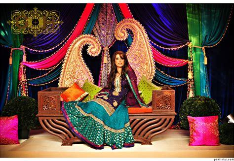 colour themes for mehndi mehndi stage design on pinterest wedding stage