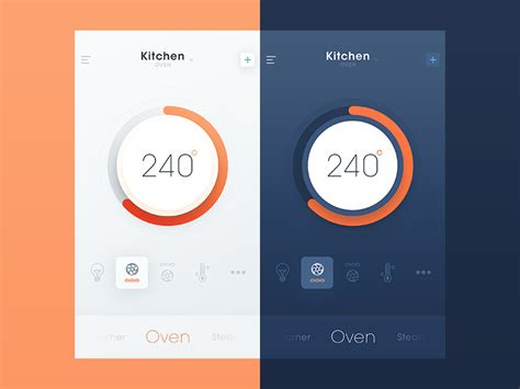 30 inspiring exles of smart home app muzli design