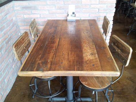 23 rustic appeal of plank dining tables wood table